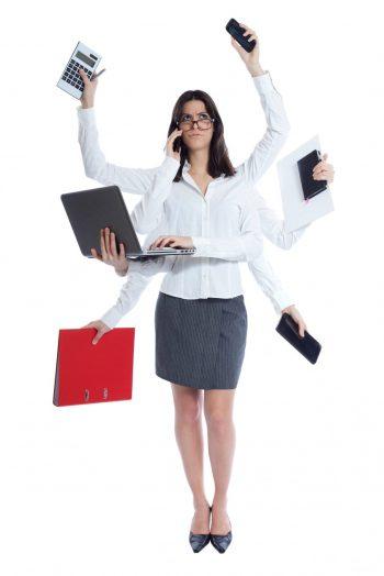 femme-avec-6-bras-multitâches-démotivation
